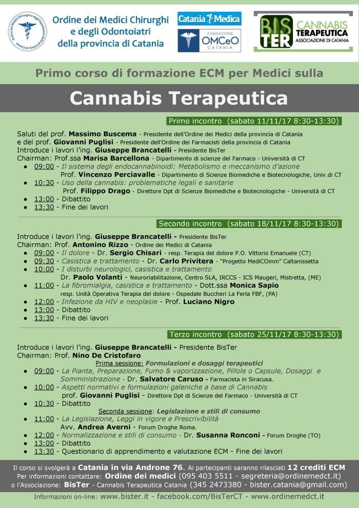 Corso di formazione a Medici a Catania sulla Cannabis - Locandina v18.jpg